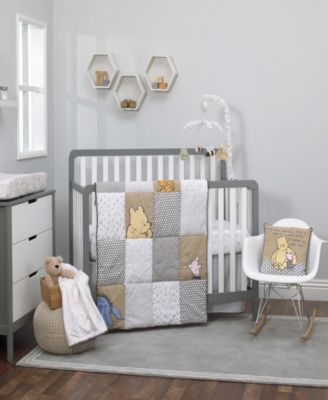 A Day With Pooh 3-Piece Crib Bedding Set