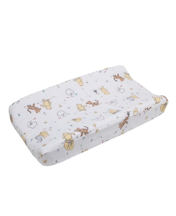 Disney - Winnie the Pooh Classic Pooh Quilted Changing Pad Cover