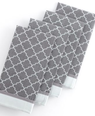 Lovely Gray Kitchen Towels Waverly Alfa