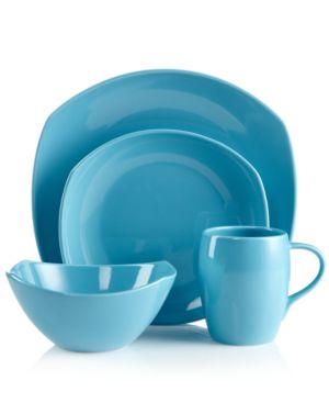 Dansk Dinnerware, Classic Fjord Sky Blue 4-Piece Place Setting