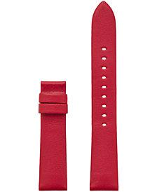 Michael Kors Access Women's Sofie Interchangeable Red Leather Smart Watch Strap