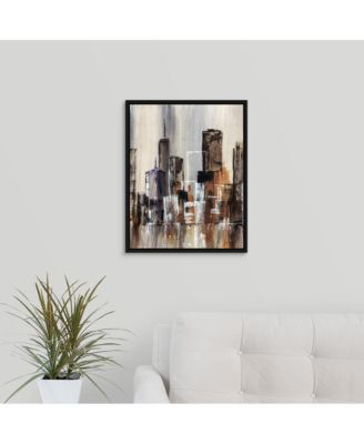 'Coastal City I' Canvas Wall Art, 24