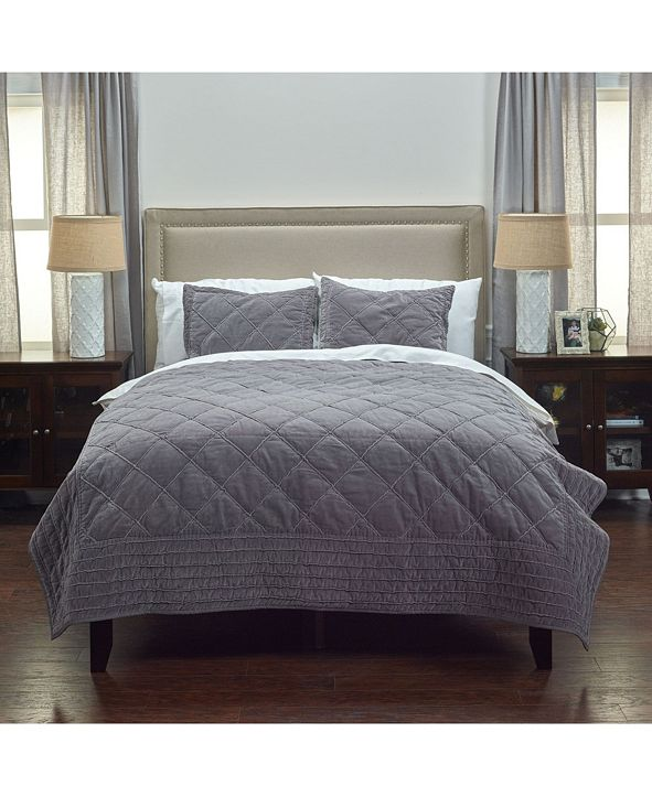Rizzy Home Riztex USA Collin Queen Quilt