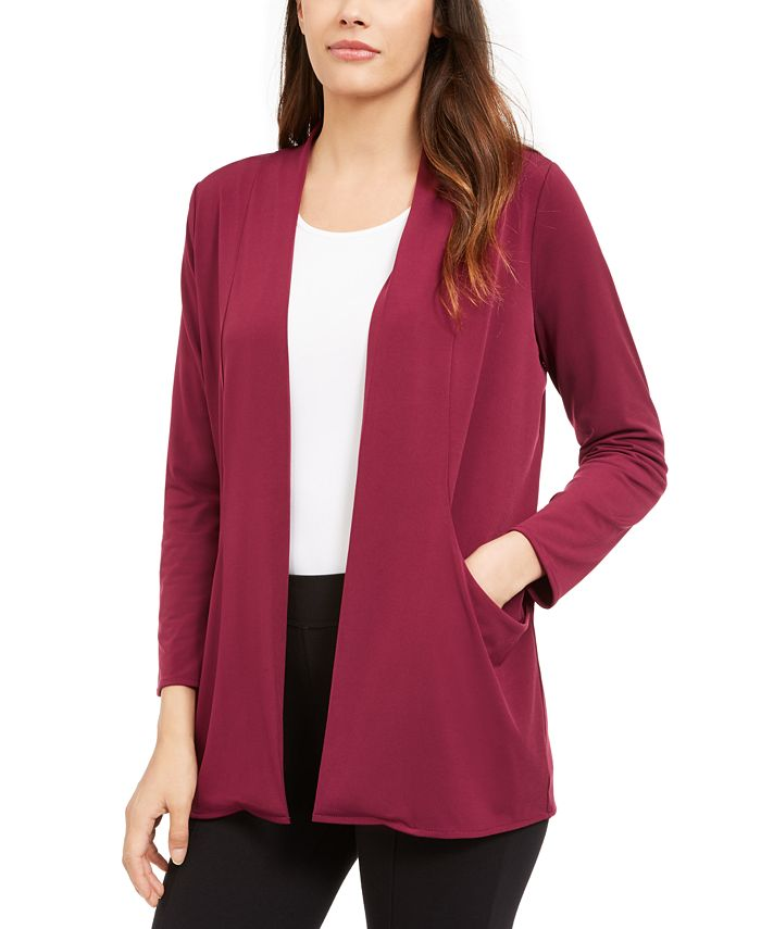 Alfani - Open-Front Cardigan, Created for Macy's