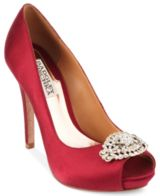 Goodie Platform Evening Pumps