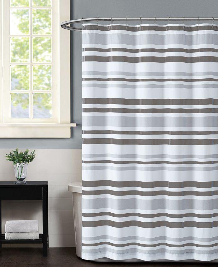 Truly Soft - Curtis Stripe Shower Curtain