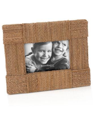 "Reed & Barton Picture Frame, Montauk 4"" x 6"""