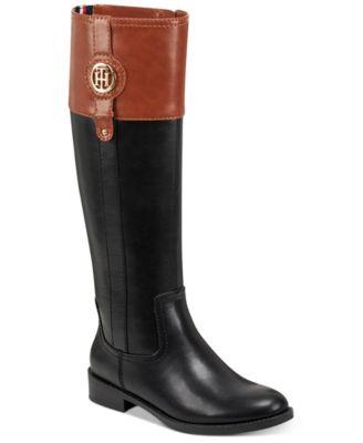 Wide Calf Imina Riding Boots
