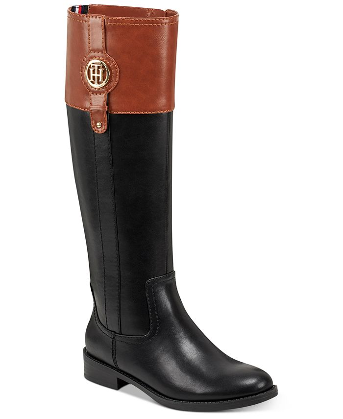 Tommy Hilfiger - Women's Imina Riding Boots