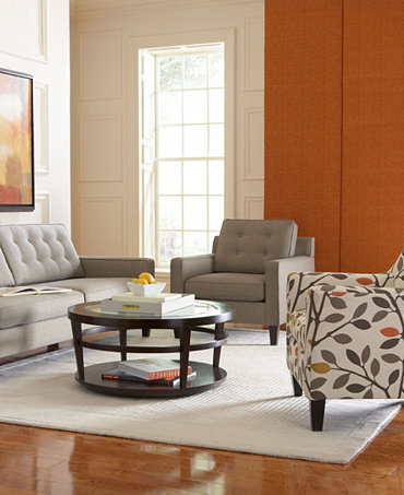 Ava Fabric Sofa Living Room Furniture Collection Furniture Macy 39 S