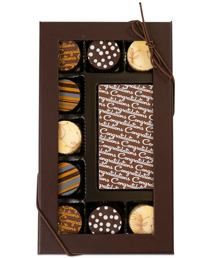 Chocolate Works - 10-Pc. Congratulations Gourmet Chocolate Truffles
