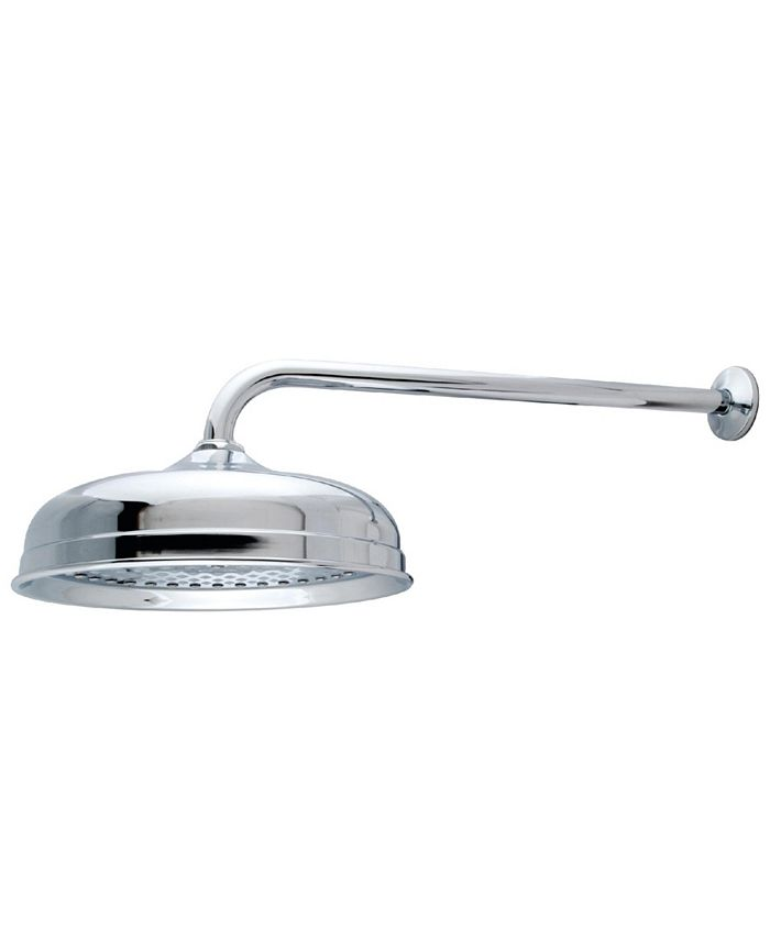 Kingston Brass - Trimscape 10-Inch Shower Head with 17-Inch Shower Arm in Polished Chrome
