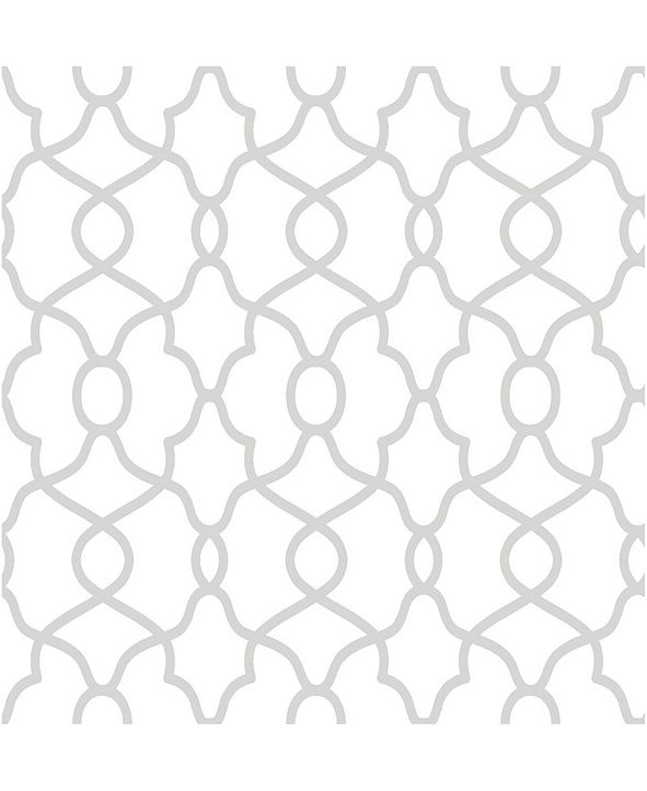 """NuWallpaper 216"""" x 20.5"""" Clearly Cool Peel Stick Wallpaper"""