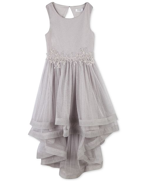 Speechless Big Girls Plus Embroidered Glitter Mesh Dress Created For Macy S Reviews All Girls Dresses Kids Macy S