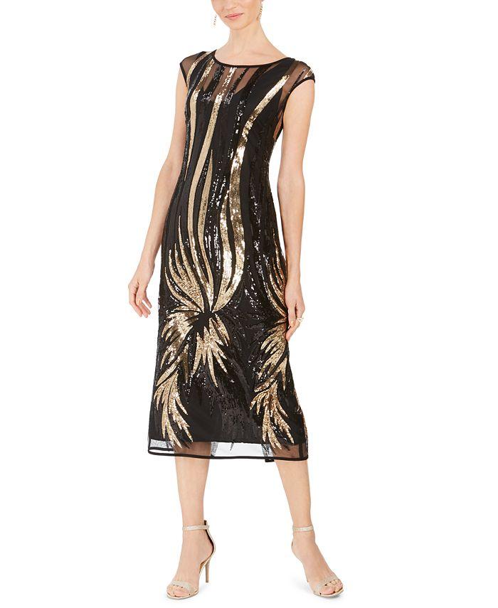 Connected - Sequin Starburst Dress