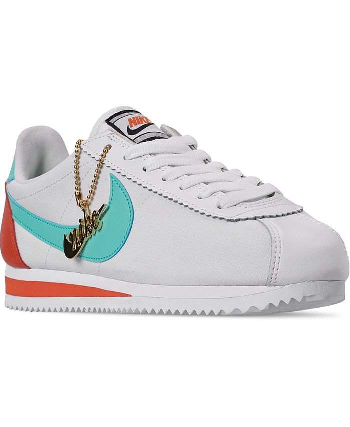 Persona australiana Centro comercial plátano  Nike Women's Classic Cortez Premium Casual Sneakers from Finish Line &  Reviews - Finish Line Athletic Sneakers - Shoes - Macy's
