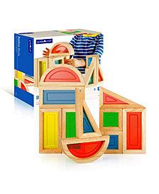 Guidecraft Rainbow Blocks - 10 Pieces Set
