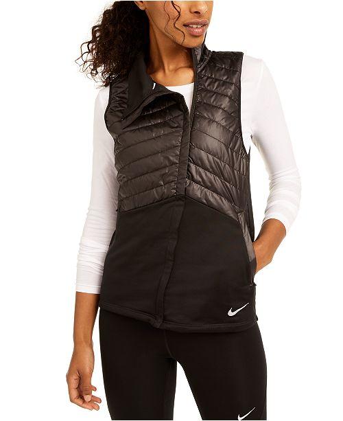 popurrí Remolque Bergantín  Nike Women's Essential Quilted Running Vest & Reviews - Women - Macy's
