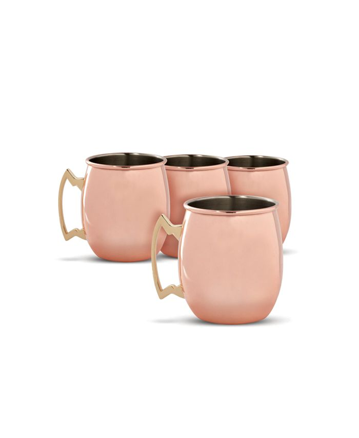 Thirstystone - Copper Moscow Mule Mugs, Set of 4