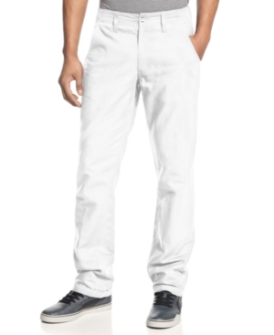 Rocawear Pants Linen 5 Pocket Pants Classic Fit