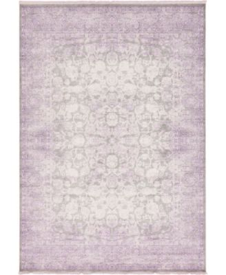 Norston Nor3 Purple 10' x 13' Area Rug