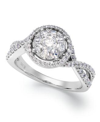 Artcarved Wedding Ring 56 Luxury Prestige Unity Diamond Ring