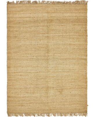 Stout Jute Stj1 Natural 2' x 3' Area Rug