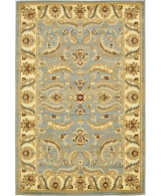 Passage Psg1 Light Blue 4' x 6' Area Rug