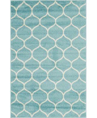 Plexity Plx2 Light Blue 5' x 8' Area Rug