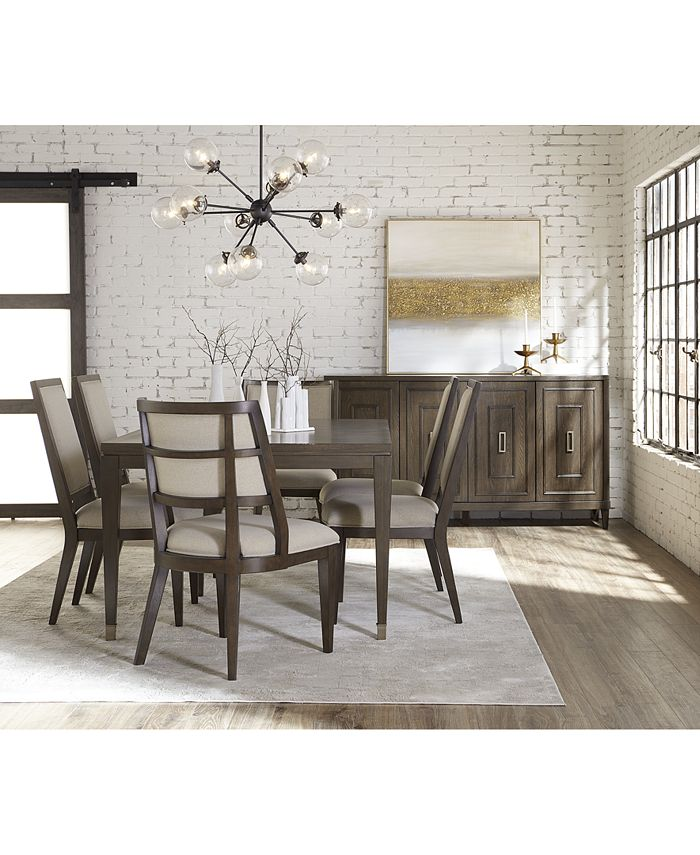 Furniture - Monterey II Dining , 7-Pc. Set (Table, 4 Side Chairs & 2 Hostess Chairs)
