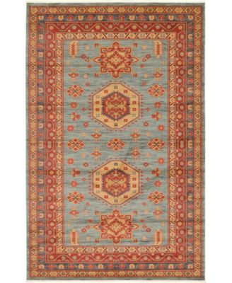 Harik Har1 Light Blue 7' x 10' Area Rug