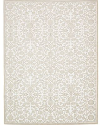 Marshall Mar1 Snow White 7' x 10' Area Rug