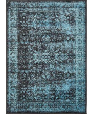 Linport Lin1 Turquoise/Black 8' x 11' 6