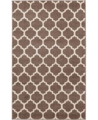 Arbor Arb1 Light Brown 6' x 6' Square Area Rug