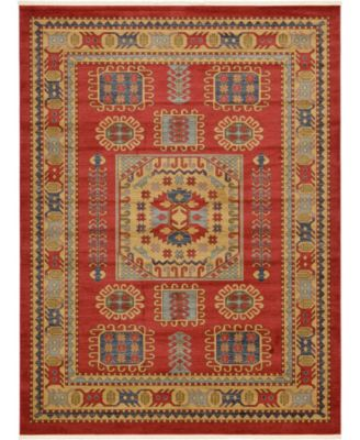 Harik Har6 Red 5' x 8' Area Rug