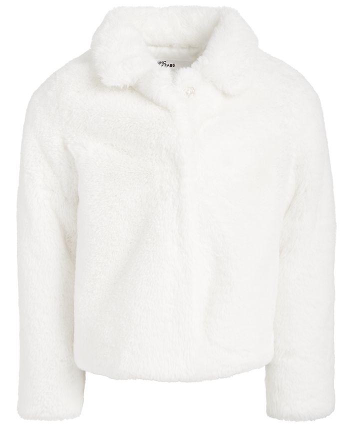 Epic Threads - Little Girls Faux-Fur Jacket