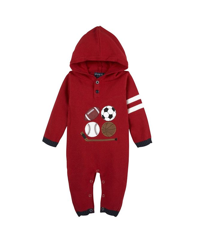 Andy & Evan Baby Boy's Sports Romper