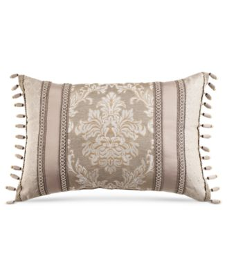 "Croscill Ava 22"" x 15"" Boudoir Decorative Pillow"