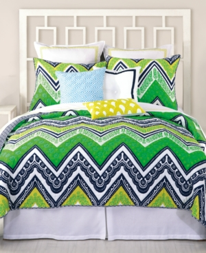 Trina Turk Bedding Tangier Stripe Coverlet Collection