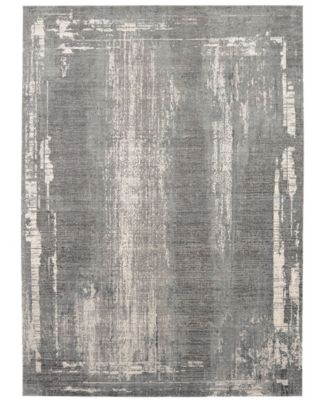 Tryst Milan Gray 2' x 3' Area Rug