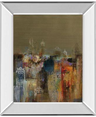 "Penthouse View I by Douglas Mirror Framed Print Wall Art - 22"" x 26"""