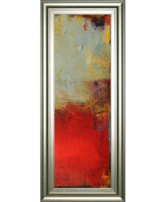 "Chicago St. Rush Il by Erin Ashley Framed Print Wall Art - 18"" x 42"""