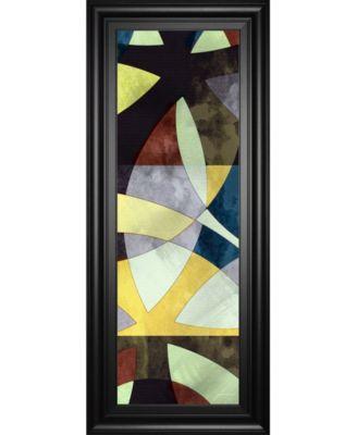 "Elliptic Path I by James Burghardt Framed Print Wall Art - 18"" x 42"""