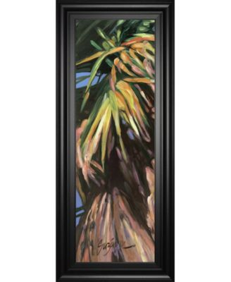 """Wild Palm I by Suzanne Wilkins Framed Print Wall Art - 18"""" x 42"""""""