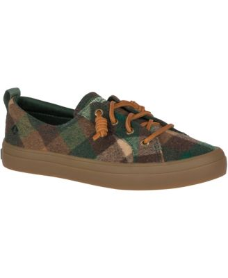 Crest Vibe Plaid Wool Sneakers