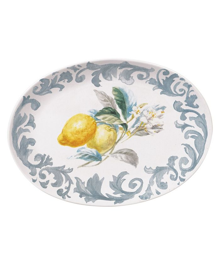 Certified International - Citron Oval Platter
