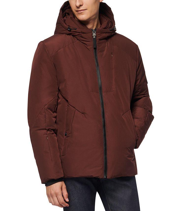 Marc New York - Men's Spalding Down-Filled Hooded Jacket