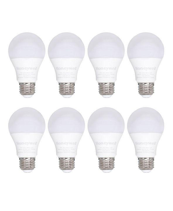 Macy's Honeywell A19 Non-Dimmable Energy Saving LED Light Bulb, Pack of 8