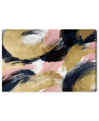 Blush and Midnight Dream Canvas Art, 15