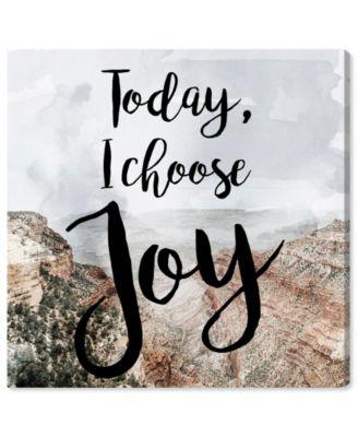 I Chose Joy Desert Canvas Art, 16